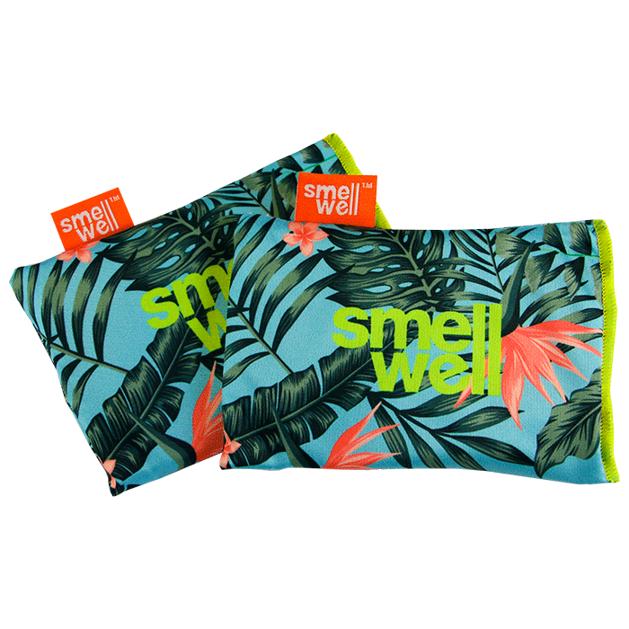 SmellWell Active Odour Eliminating Bags - Tropical Floral