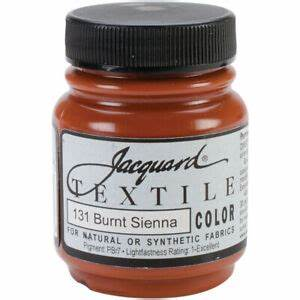 Jacquard Textile Color Paint - Burnt Sienna
