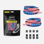 Xpand Laces Original Flat No Tie Lacing System - America