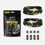Xpand Laces Original Flat No Tie Lacing System - Green Camo