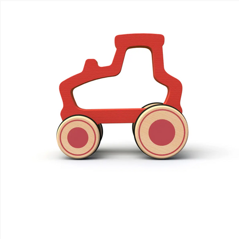 Wooden Push Around Tractor