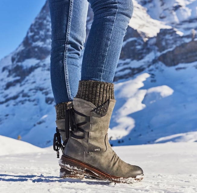 Women's Winter Warm Lace Up Boots New 2019