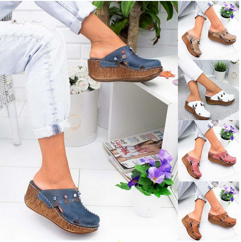 Ladies Girls Comfortable Ankle Hollow Round Toe Sandals