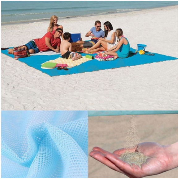 New Year Sale Sandproof Beach Blanket Lightweight