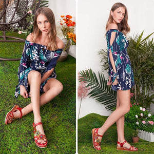 Fashionable new ladies' sandals