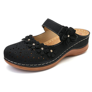 Flat round toe casual sandals for ladies (NOW 50% OFF)
