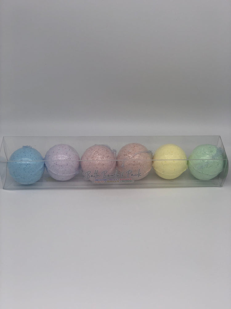 Bath Bomb 6 Pack (180MG CBD)