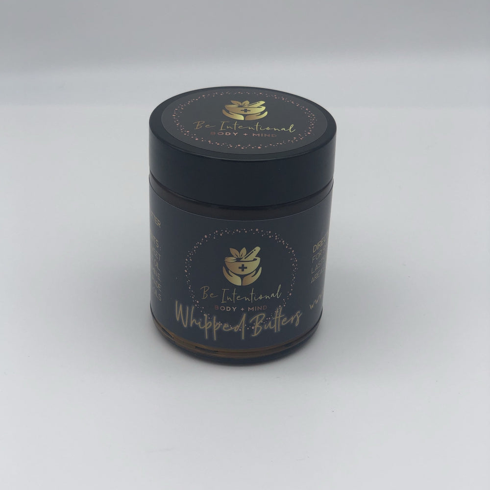 8oz Whipped Body Butter (CBD Free)