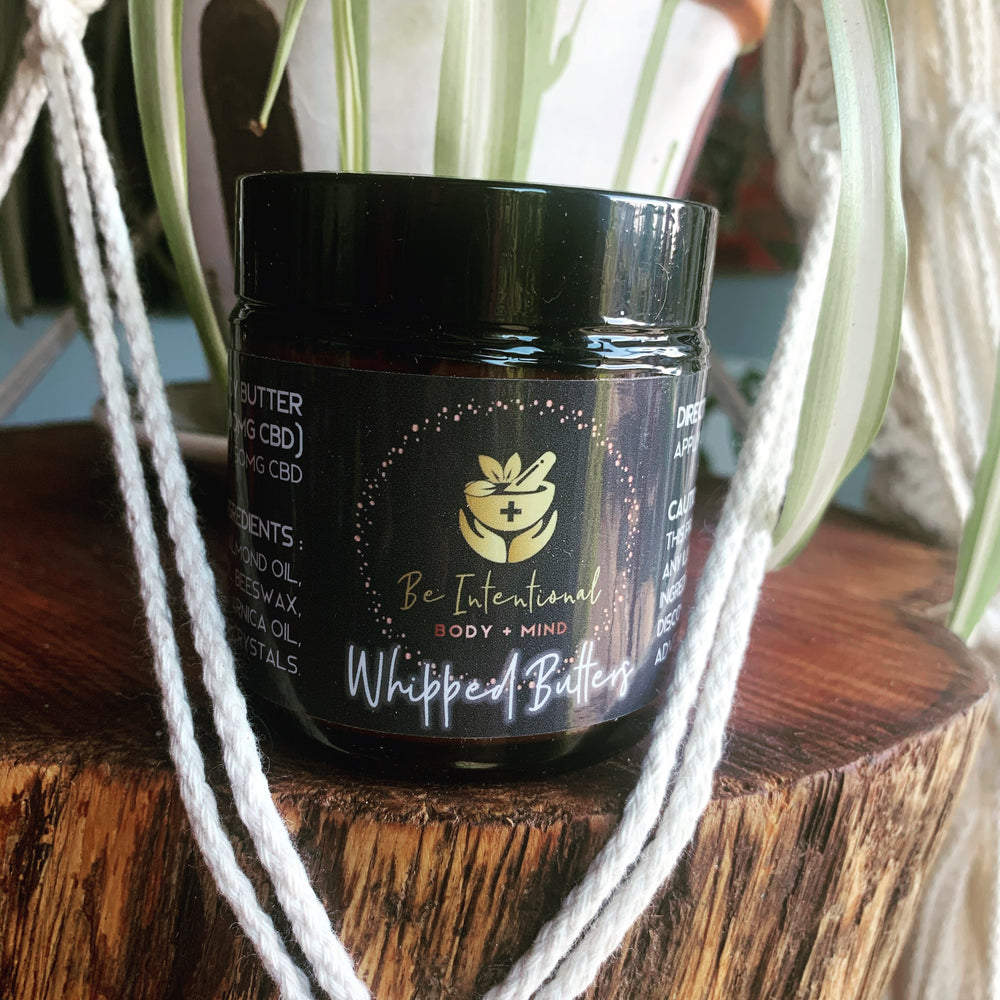 CBD Whipped Body Butter