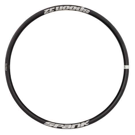 SPOON 32 RIM BLACK