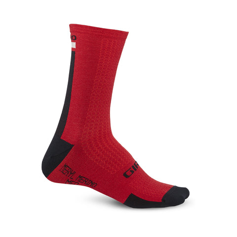 Giro HRC + Merino Dark Red/Black/Grey
