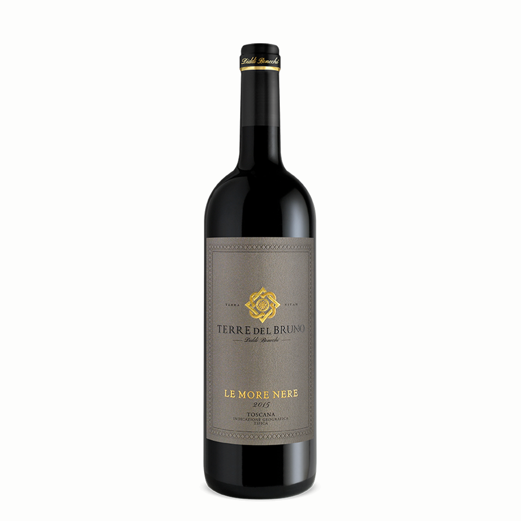 Terre del Bruno – Le More Nere Rosso Toscana IGT 2015
