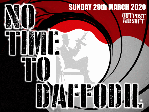 No Time To Daffodil 29.03.2020 - Booking Now Open