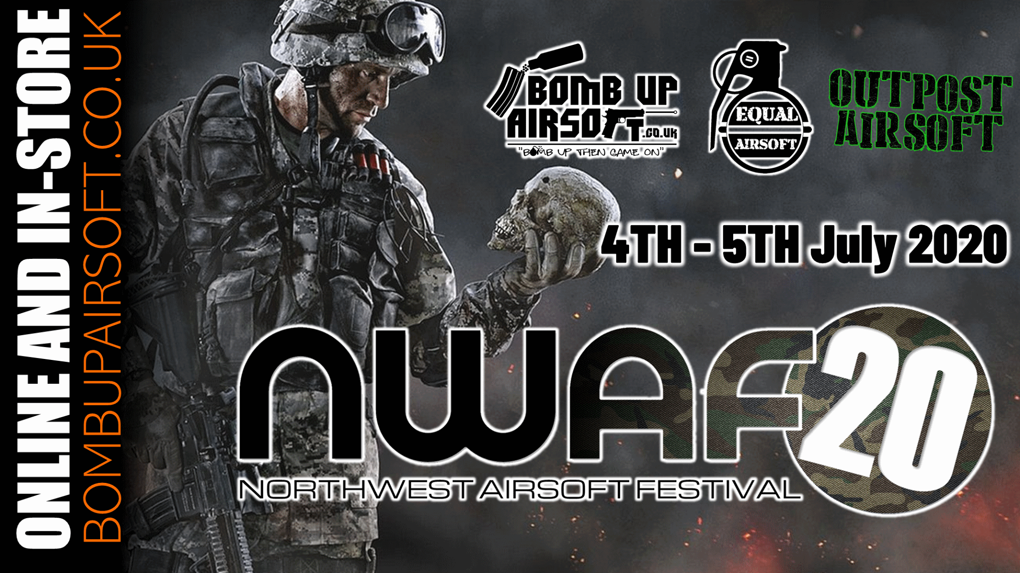 NWAF (North West Airsoft Fair) 4th and 5th July 2020