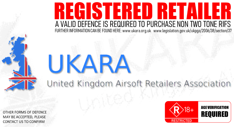 UKARA registered airsoft retailer