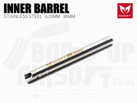 Modify Stainless Steel 6.03mm Precision Barrel - 85mm