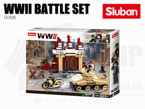 Sluban Bricks B0696 - WWII Battle of Stalingrad