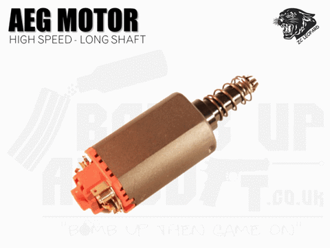 ZCI High Speed Motor - Long