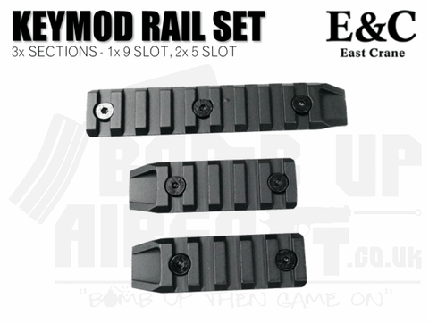 E&C Keymod Rail Section Set