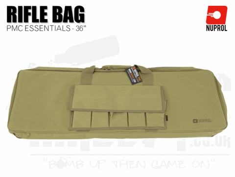 Nuprol PMC Essentials Soft Rifle Bag - Tan 36""