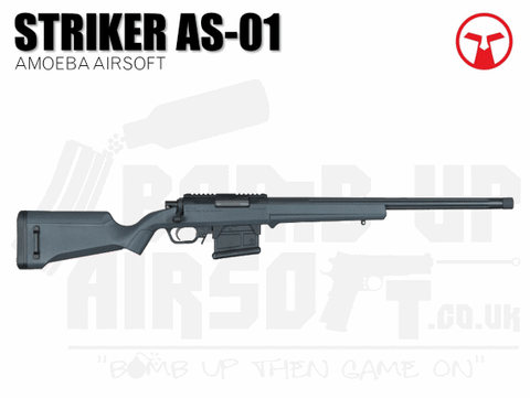 Ares Amoeba AS-01 Striker Sniper Rifle - Urban Grey