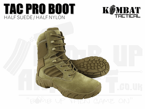 TAN AIRSOFT BOOTS