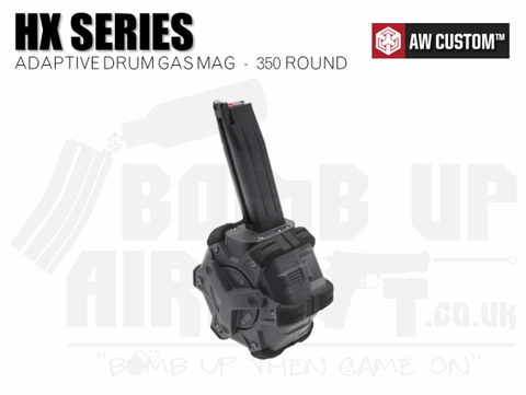 Armorer Works Custom Adaptive 350rnd GBB Drum Mag - HX Series