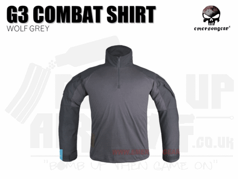 EMERSON GEAR COMBAT SHIRT WOLF GREY