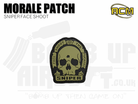 SHOOT THE FUCKERS AIRSOFT MORALE PATCH
