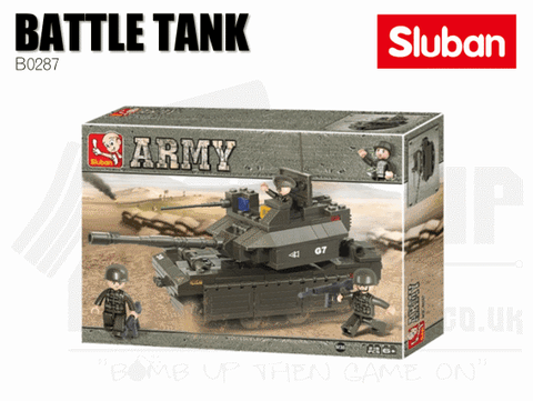 Sluban Bricks B0287 - Battle Tank