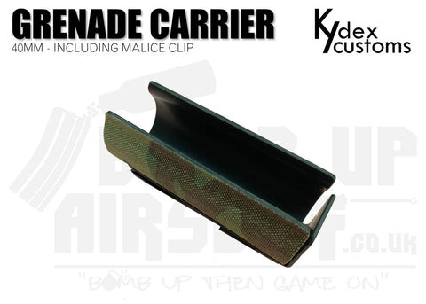 Kydex Customs 40mm Grenade Carrier Holster - Multicam
