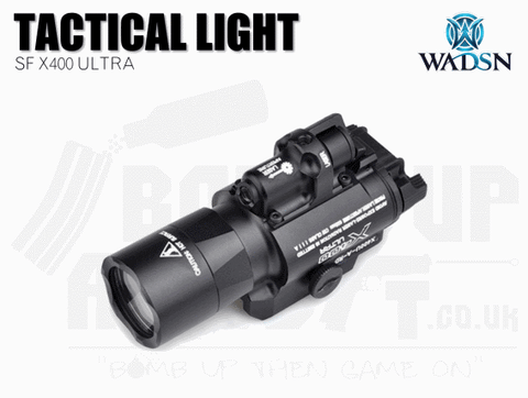 WADSN SF X400 Ultra Rail Mounted Flashlight