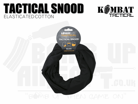 BLACK AIRSOFT SNOOD