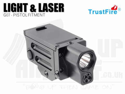TrustFire G07 Pistol Light and Laser