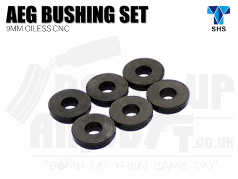 SHS 9mm Oilless CNC Bushing Set