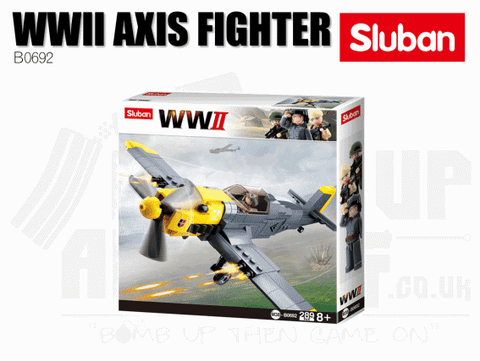 Sluban Bricks B0692 - WWII German Fighter