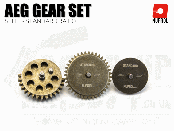 Nuprol Standard Replacement Gear Set