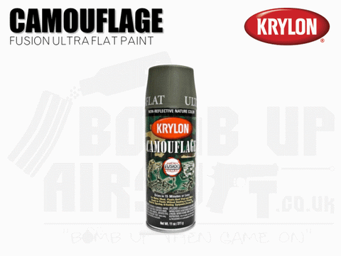 OLIVE GREEN KRYLON PAINT