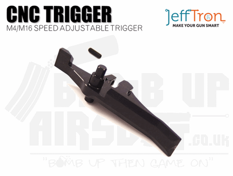 Jefftron CNC M4 / M16 Speed Trigger - Black