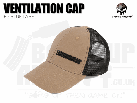 Emerson Gear Blue Label Ventilation Cap - Khaki
