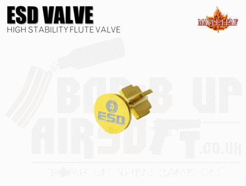Maple Leaf (ESD) High Stability Flute Valve