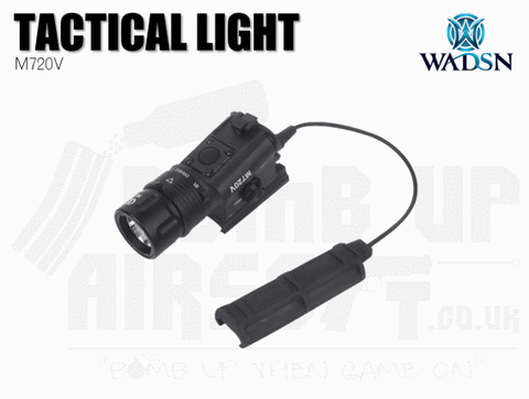 WADSN M720v Tactical Light With Strobe - Black