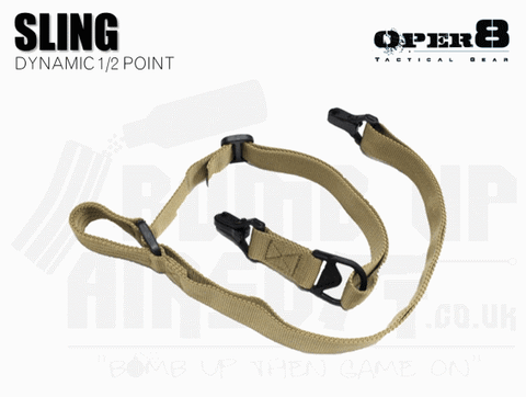 Oper8 Dynamic 1 or 2 Point Sling - Tan