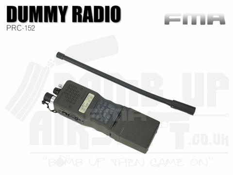FMA PRC-152 Dummy Radio Case - OD Green