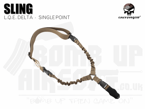 Emerson Gear L.Q.E. One Point Sling - Tan