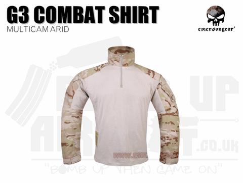 EMERSON GEAR COMBAT SHIRT MULTICAM ARID