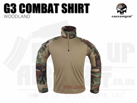 EMERSON COMBAT SHIRT WOODLAND