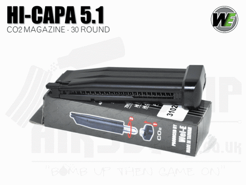 WE Hi Capa 5.1  30 Round Co2 Mag