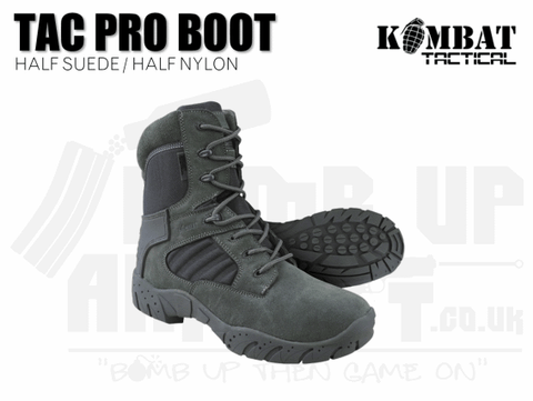 GREY AIRSOFT BOOTS
