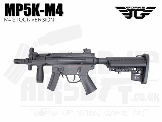 JG MP5K with M4 Stock